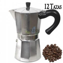 Cafetera clásica de inducción 12 tazas