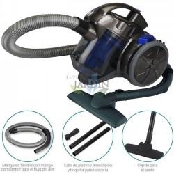 Aspirador multiciclónico sin bolsa 700W Azul