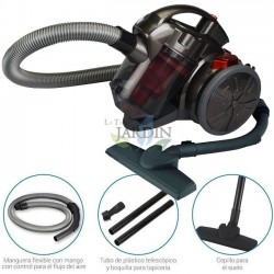 700W Bagless Multicyclonic Vacuum Cleaner Red