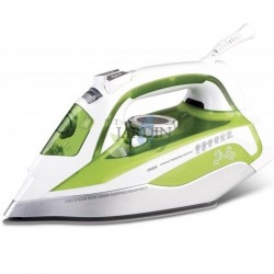 2200W professional steam iron, green ceramic coating