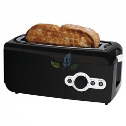 750W Multifunktions-Breitbrot-Toaster