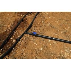 Tubería Agrícola 16mm 2,5 bar 100mt negro sin goteros