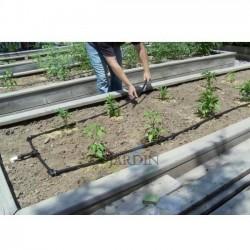 Agricultural polyethylene pipe 20mm 4 bar 25mt black