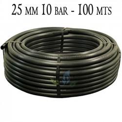 Agricultural pipe 25mm 10 bar 100mt black