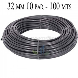 Agricultural pipe 32mm 10 bar 100mt black