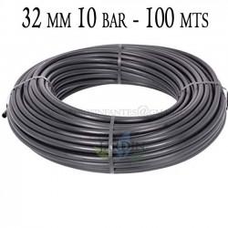 Agricultural pipe 32mm 10 bar 100mt black