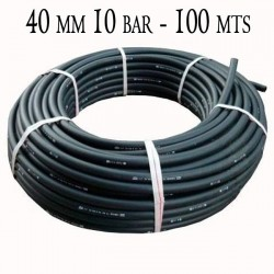 Agricultural Polyethylene Pipe 40mm 10 bar 100mt black