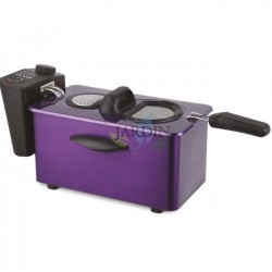 2000W 3.5 Liter Purple Fryer