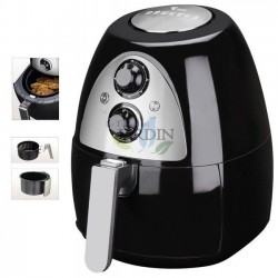 Deep fryer 1230W 2 liters black