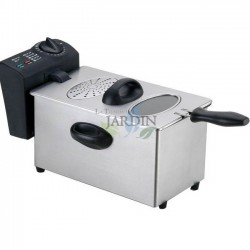 Fryer stainless steel 2000W 3.5 liters