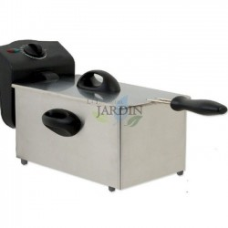 Stainless steel fryer 1500W 1.75 liters