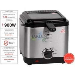 Stainless steel fryer 900W 1.5 liters