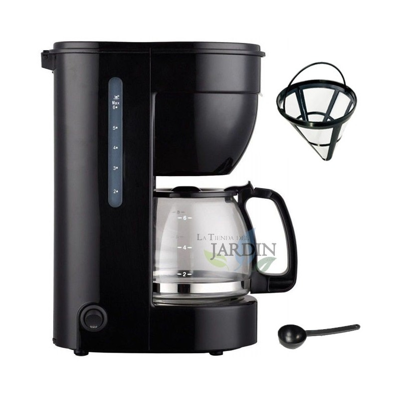 Electric drip coffee maker 0.75 liters 6 cups