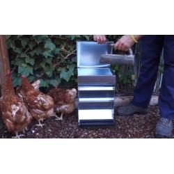 Comedero automático para gallinas