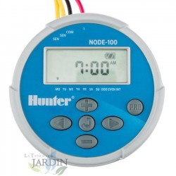 NODE100 Hunter battery operated irrigation programmer