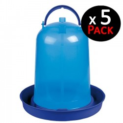 3 liter chicken drinker blue. Pack 5 units