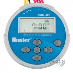 Programador de riego a pilas NODE400 Hunter