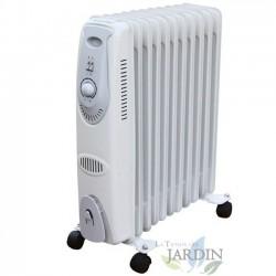 Radiador de aceite 2000W 11 elementos de calor