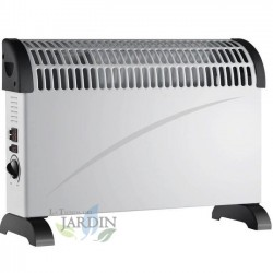 Heater convector 750W-1250W-2000W with turbo fan