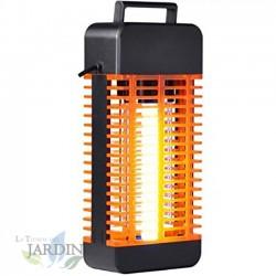 Lámpara Mata mosquitos eléctrico 13W ultravioleta. Alcance 30 metros