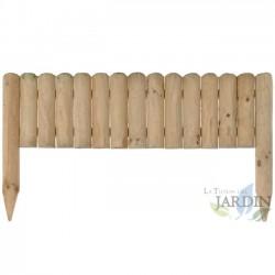 Valla de madera Vampiro, 40 x 7 x 105 cm