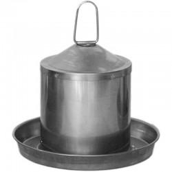 Chicken drinker in stainless steel 2 liters