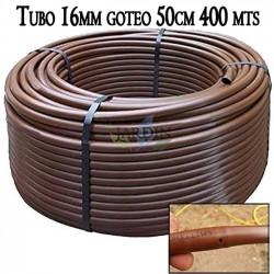 16mm pipe drip irrigation to 50cm brown, 400 meters