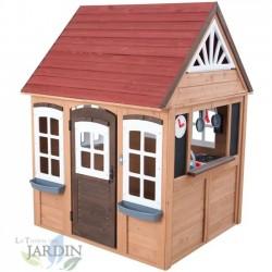 Casa de juegos de madera Fairmeadow