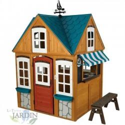 Wooden beach house 151x131x200 cm