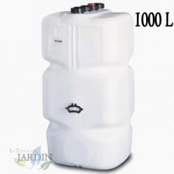 Depósito Gasóleo cuadrado 1000 litros 78x78x195 cm