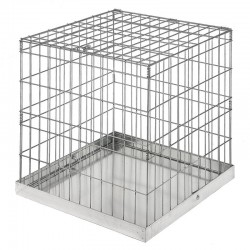 Bird cage without door 60x60 cm