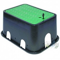 Medium rectangular irrigation box 34x24x20 cm