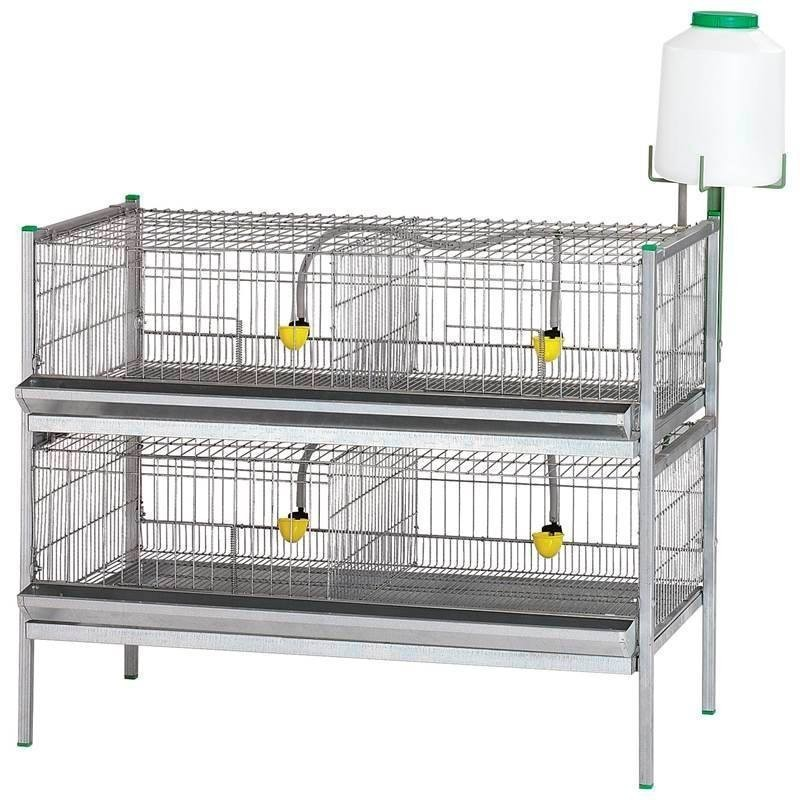 Battery for hens, chickens, birds 105x62x84 cm