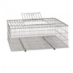 Bird transport cage 73x52x30 cm