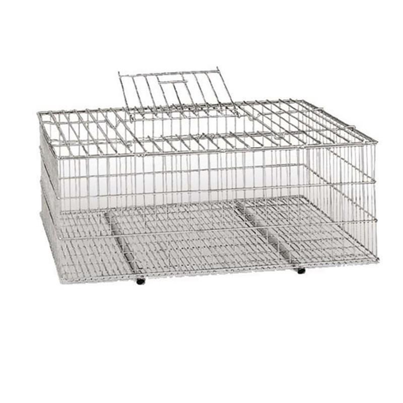 Jaula de transporte aves 73x52x30 cm