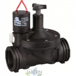 "1 1/2 ""24V Bermad 200 series solenoid valve, residential and agricultural use"