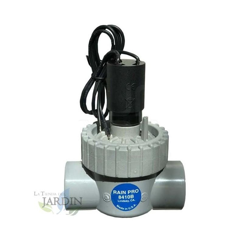 "Electroválvula PVC 1"" tapa roscada Rainpro"