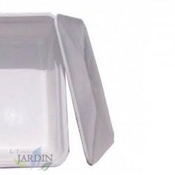 Tapadera depósito poliéster 67x67 cm, 100 litros fibra de vidrio