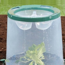 Transparent grow bucket 35x35x30 cm UV resistant