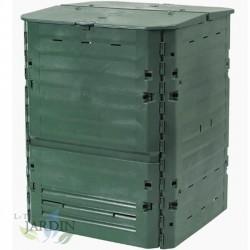 Thermal polyethylene composter 400 liters 74x74x84 cm