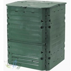 Composteur thermique en polyéthylène 1000 litres 1000x1000x1000 cm