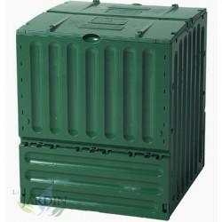 Composteur en polyéthylène 400 litres 70x70x83 cm