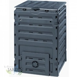 Compostadora compacta 450 litros 70x70x102 cm