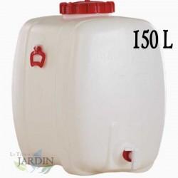 150 liter food polyethylene barrel for liquids and beverages
