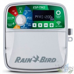 Programmer irrigation Rain Bird ESP-TM2 8 areas outside