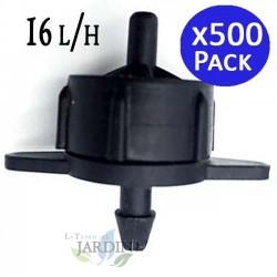 Dropper turbulent detachable 16 l/h. 500 units