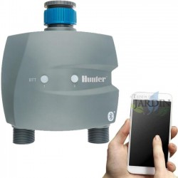Scheduler faucet 2 zones controlled by Bluetooth MTB-201 Hunter