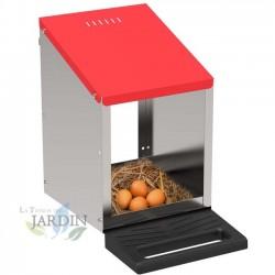 Nest innenseite hühner 1 abteilung 26x45x46 cm
