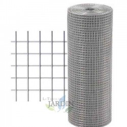 Metal mesh, 13mm frame. Galvanized fence 0.5 x 10 meters
