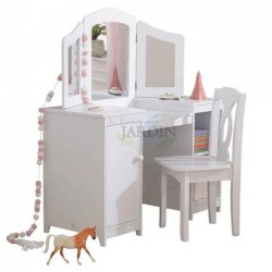 Dressing Table And Chair Luxury Wooden